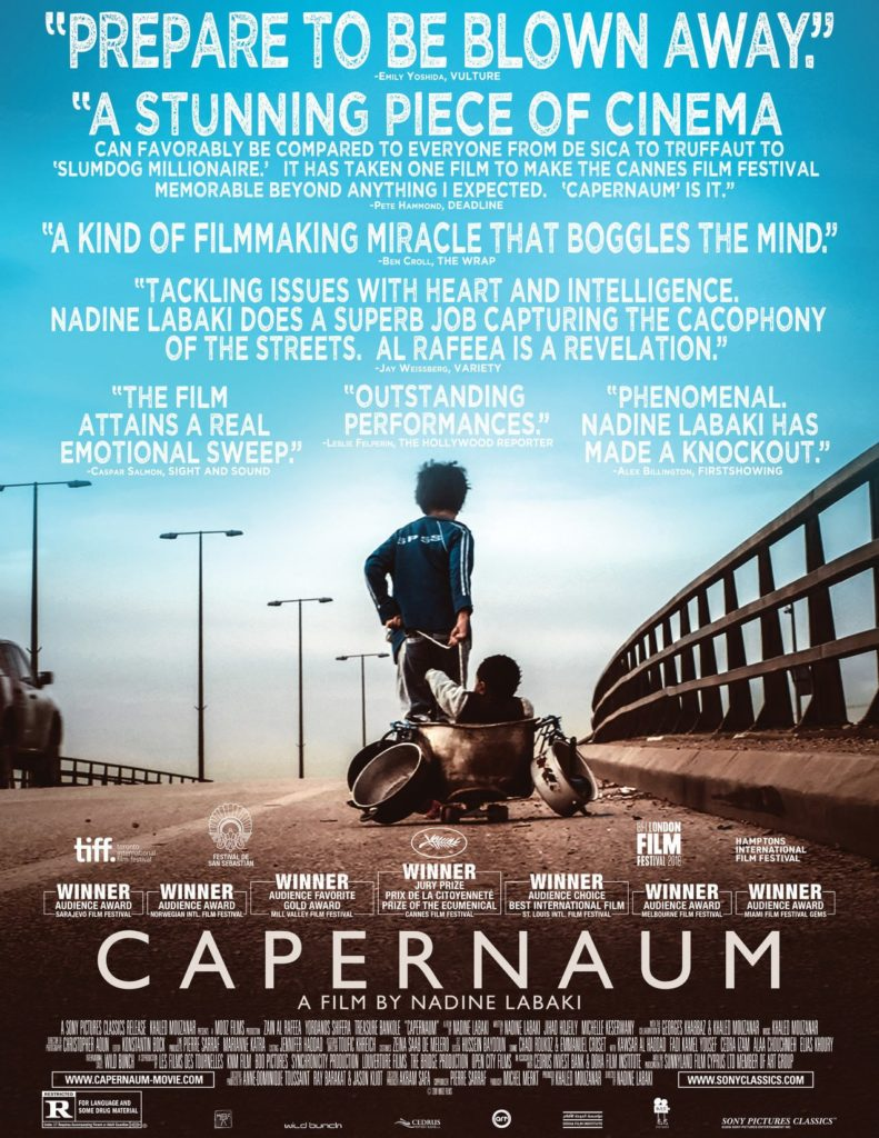 """Capernaum"" movie poster, Angel Burns 2018 movie recommendations"