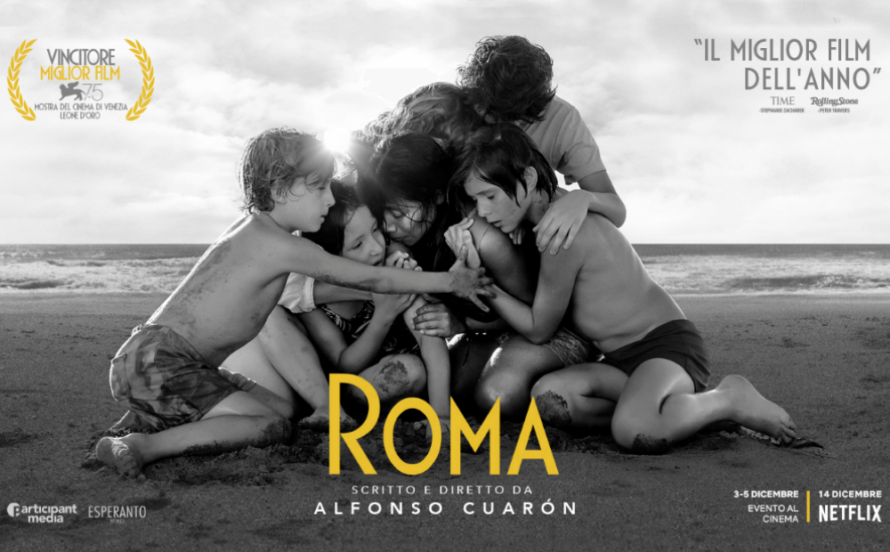 """Roma"" movie poster, Netflix, Angel Burns 2018 movie recommendations"