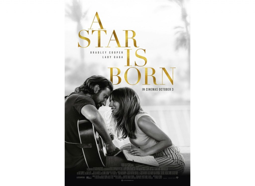 """A Star is Born"" movie poster, Warner Bros., Angel Burns 2018 movie recommendations"